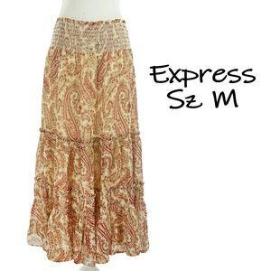 Sz M Silk Express Skirt